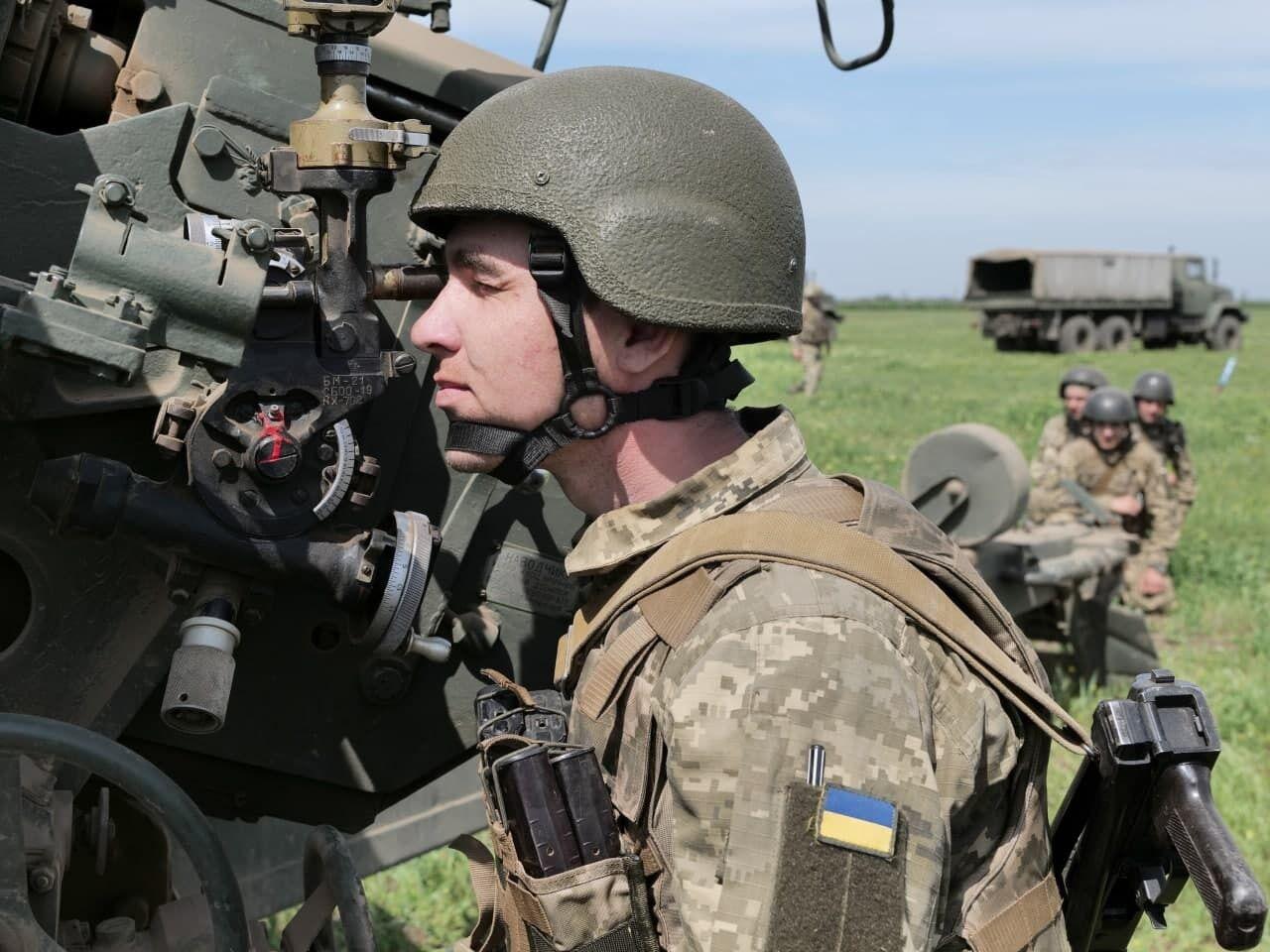 Артилерійська розвідка ЗСУ здійснювала передачу координат на батарею, що стріляє