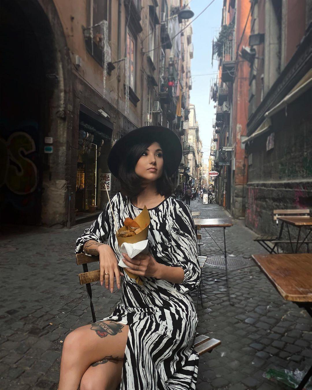 Девушка солиста группы Måneskin Давида Дамиано – Джорджия Солери
