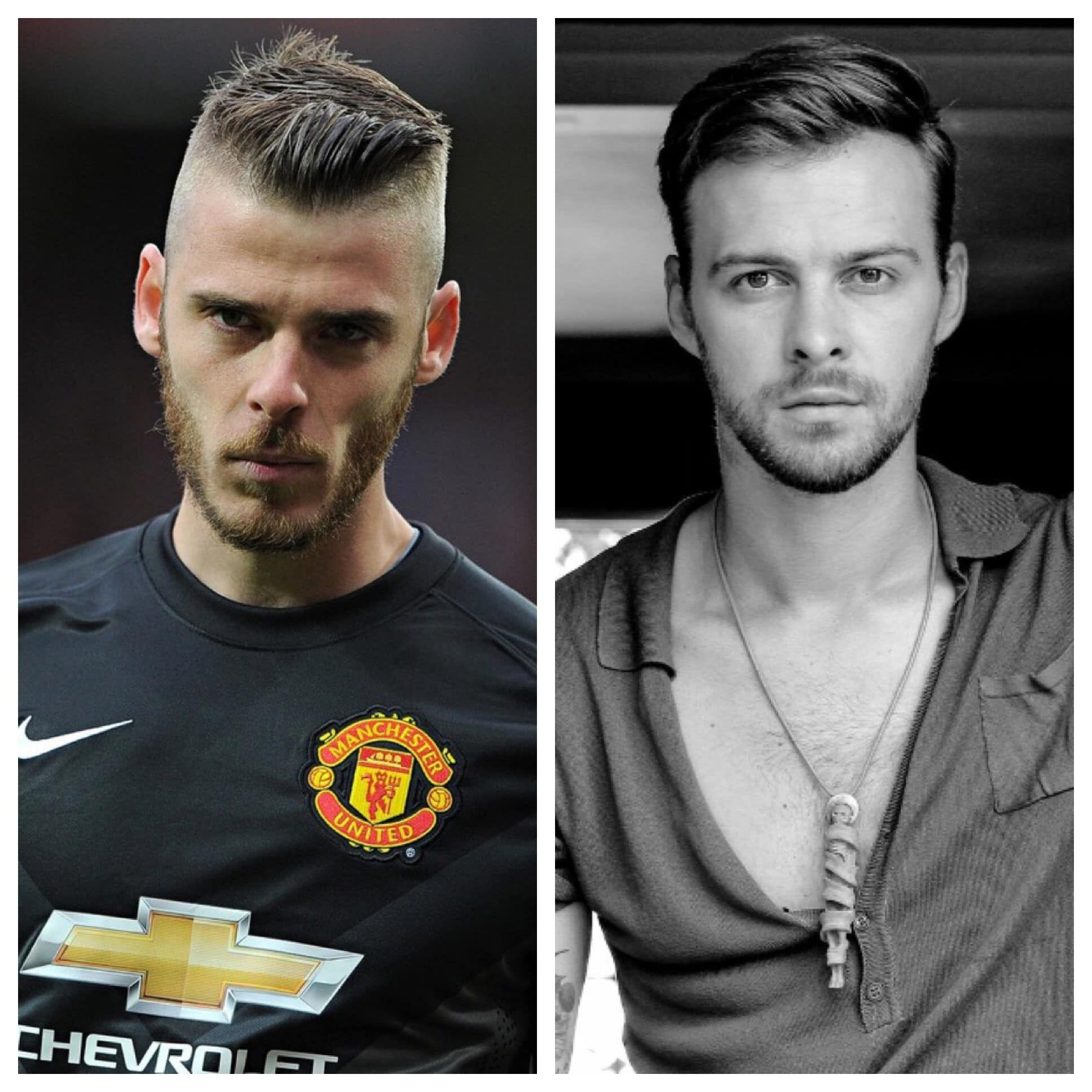 В сети сравнили испанского футболиста Давида де Хеа с украинским певцом Максом Барских