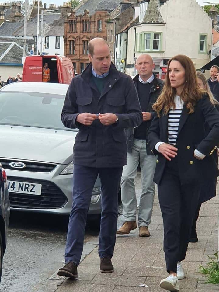 Кейт Міддлтон і принца Вільяма зняли в місті
