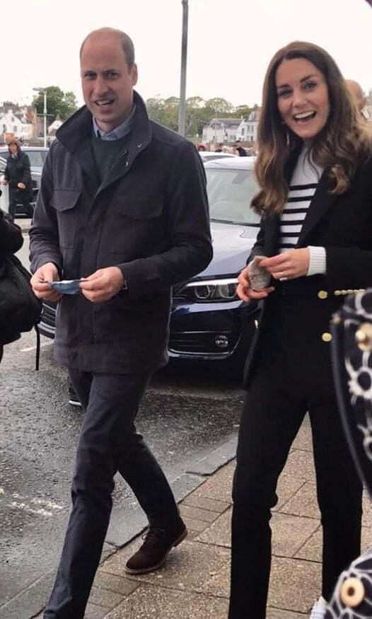 Кейт Міддлтон і принц Вільям гуляють по пам'ятному місту