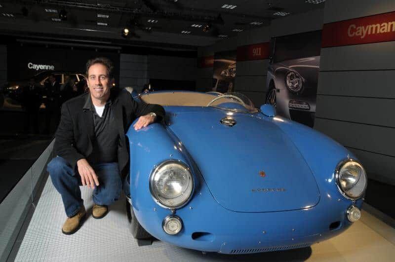 Джеррі Сайнфелд є великим фаном Porsche