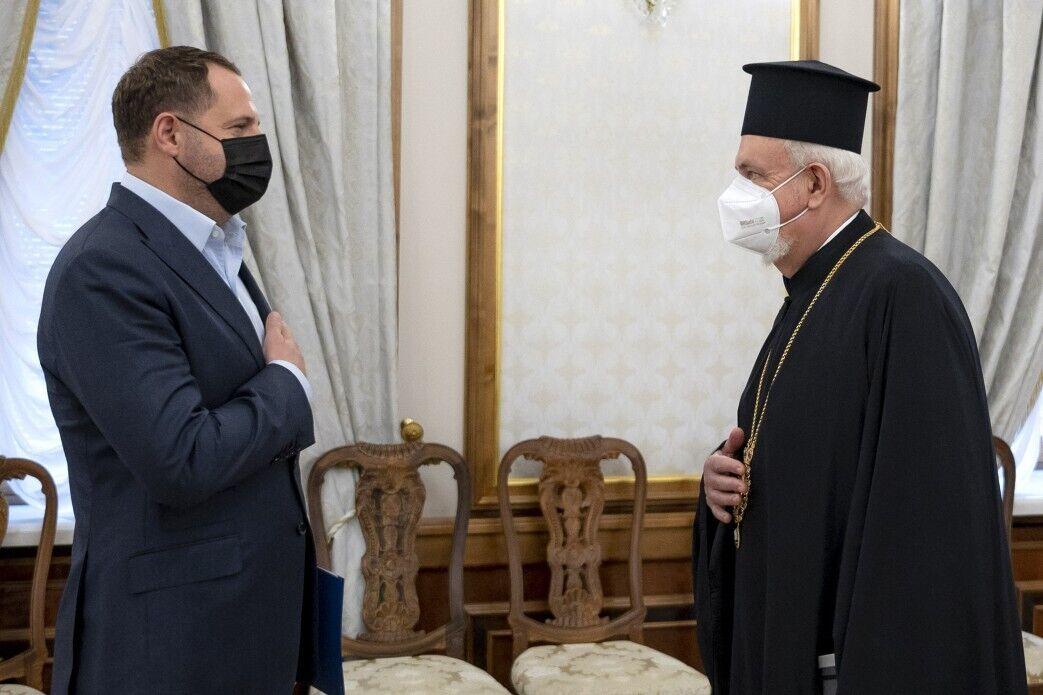 Ермак и митрополит Эммануил