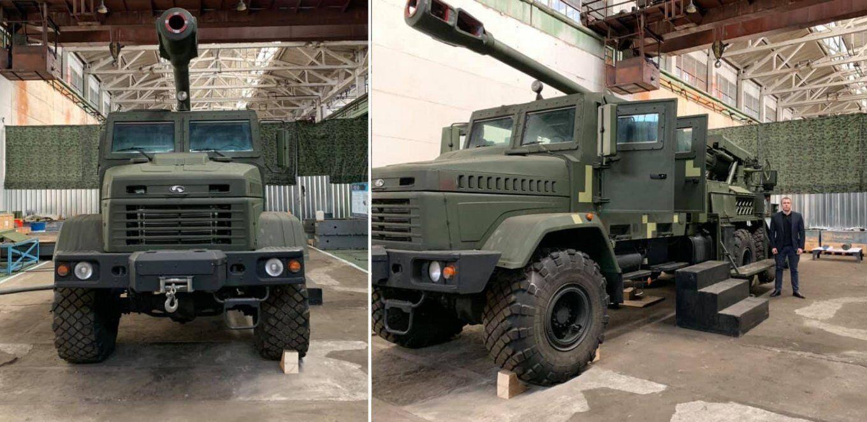 """55 мм САУ 2С22 """"Богдана"""" в цехе КЗТС. Сентябрь 2020"""