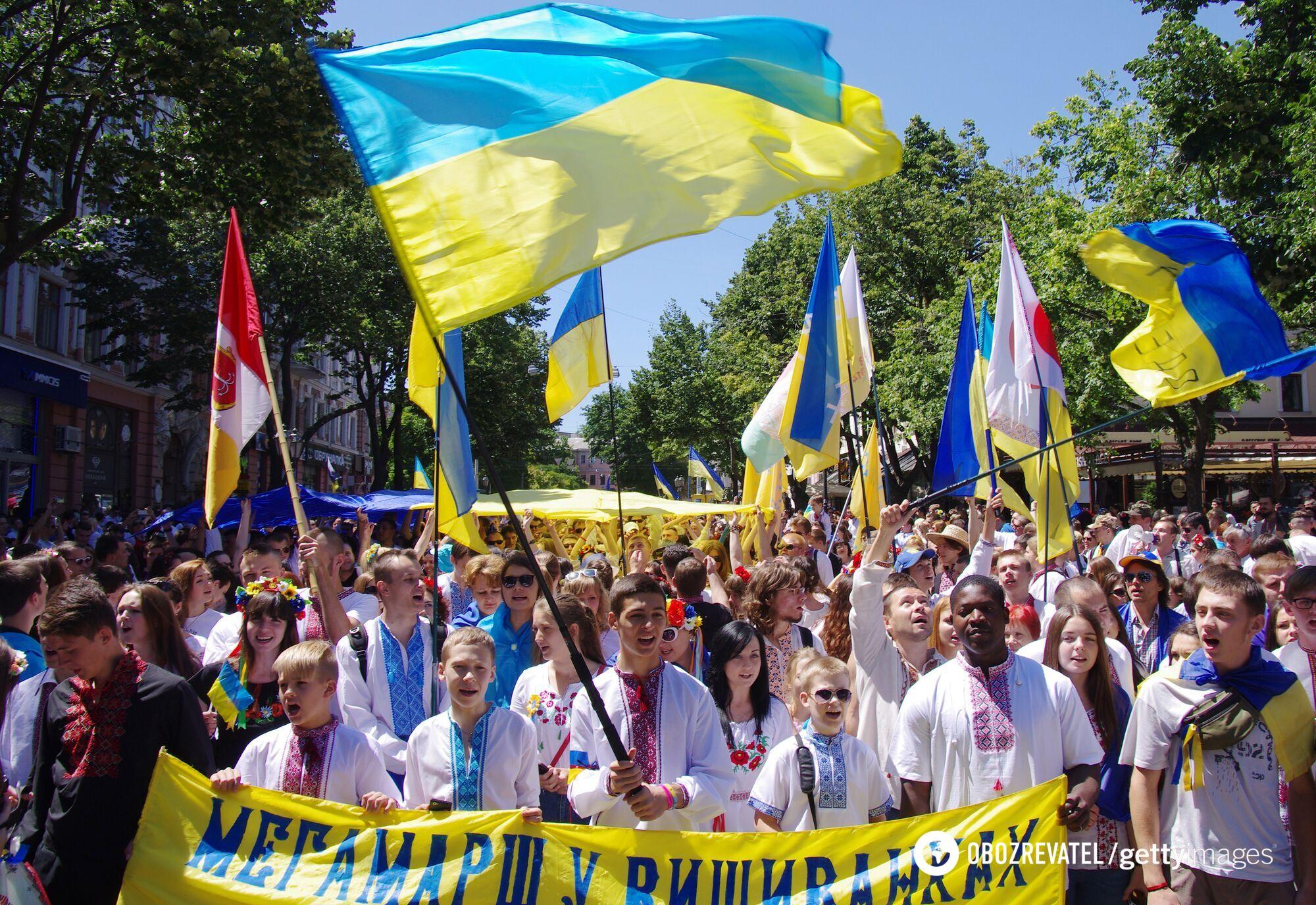 День Конституции Украины, Одесса, 28 июня 2014 года