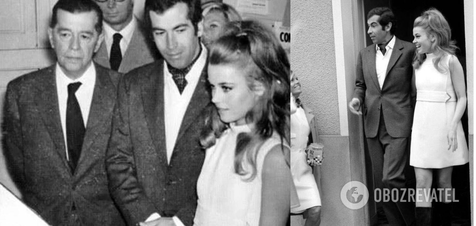 Джейн Фонда и Роже Вадим поженились в 1965 году.