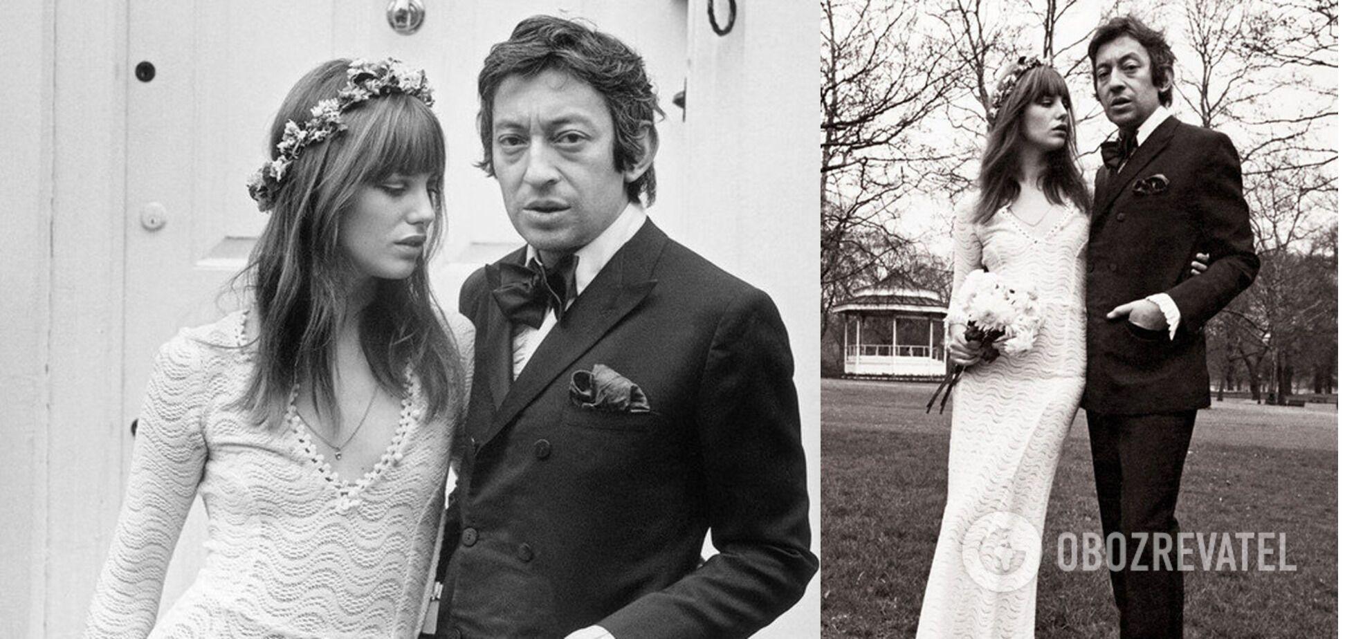 У самой красивой пары Франции Сержа Генсбура и Джейн Биркин были страстные отношения.