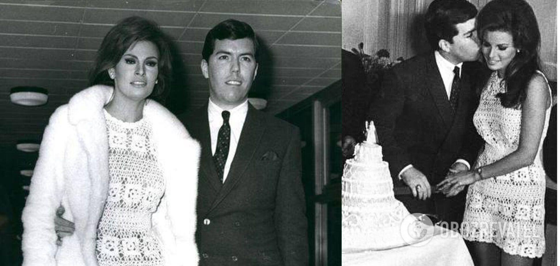 Ракель Уэлч и Патрик Кертис поженились в 1967 году.