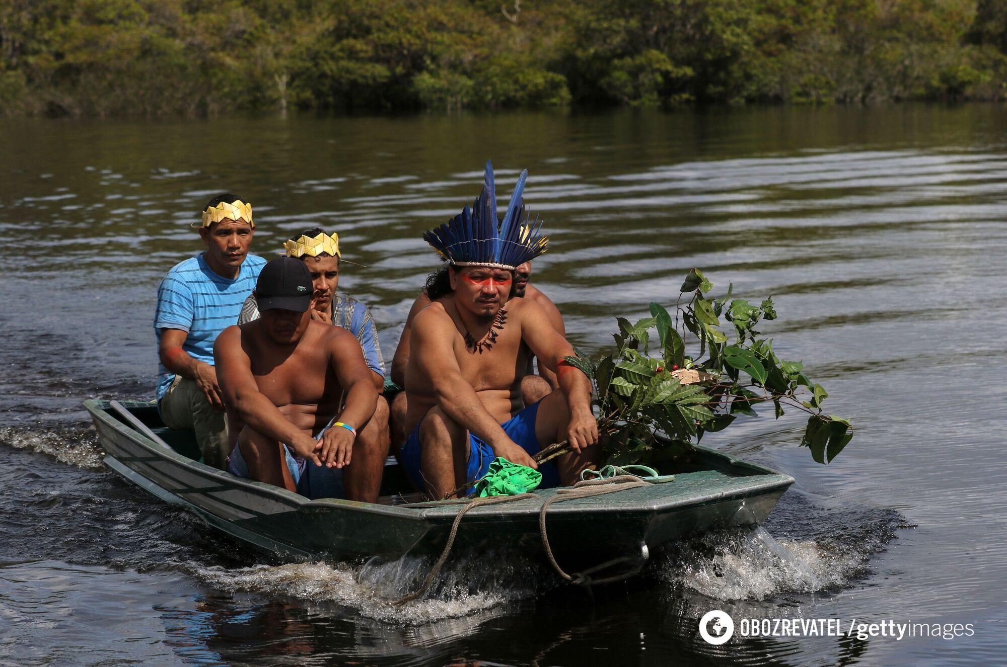 Жители Амазонки