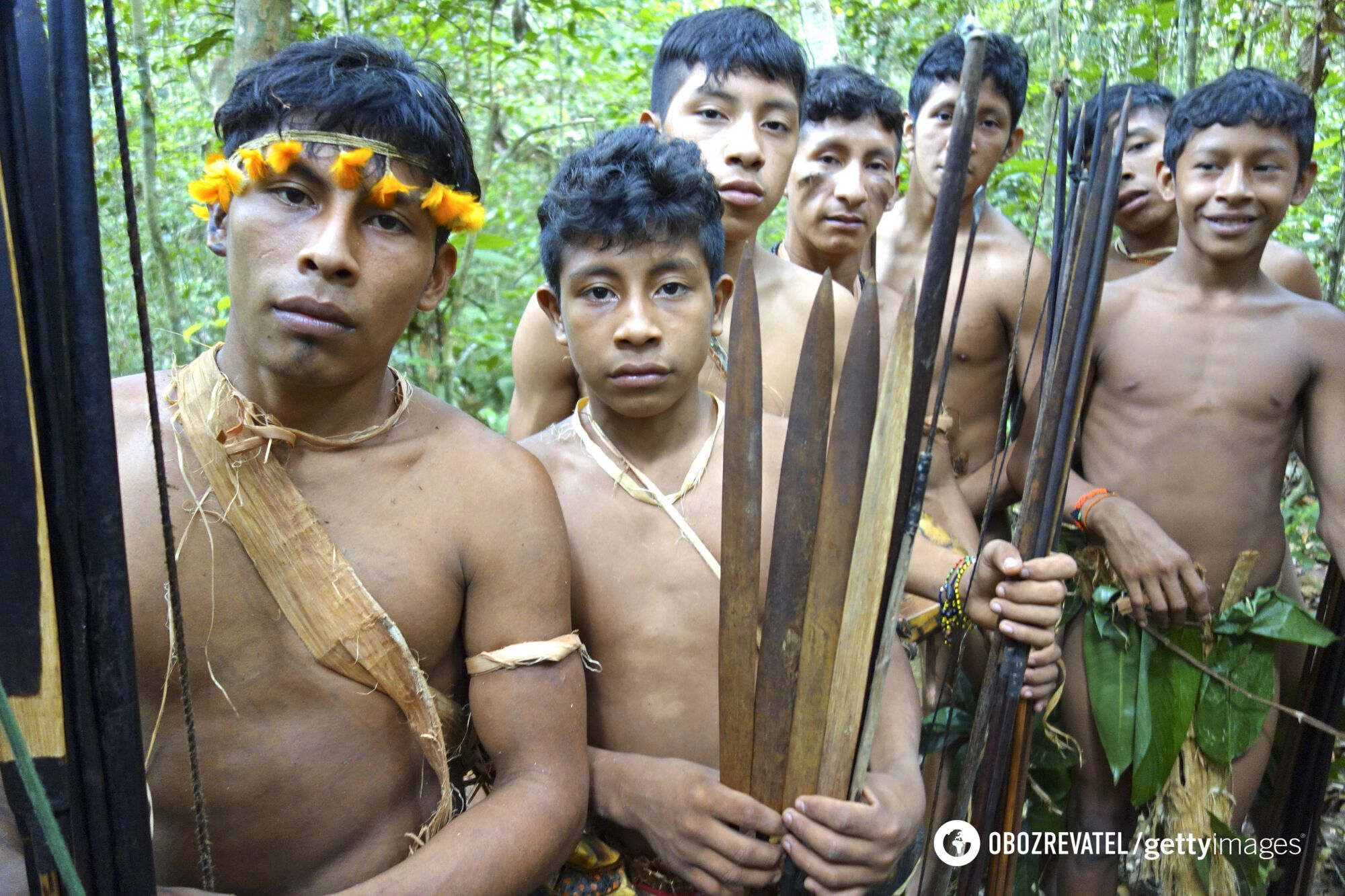 Племена Амазонки