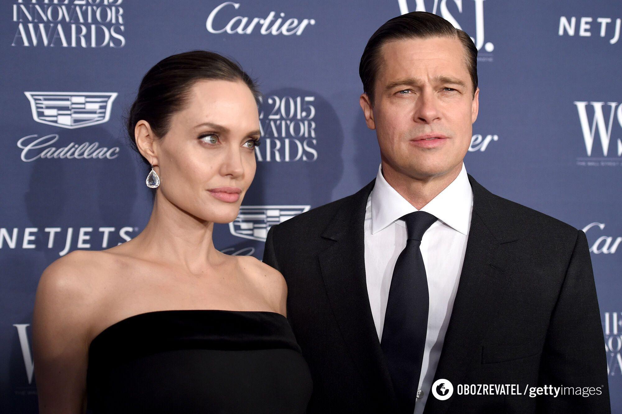 Брэд Питт и Анджелина Джоли поженились в 2014 году