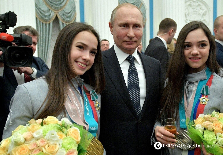 Загитова с Путиным (2018 год)