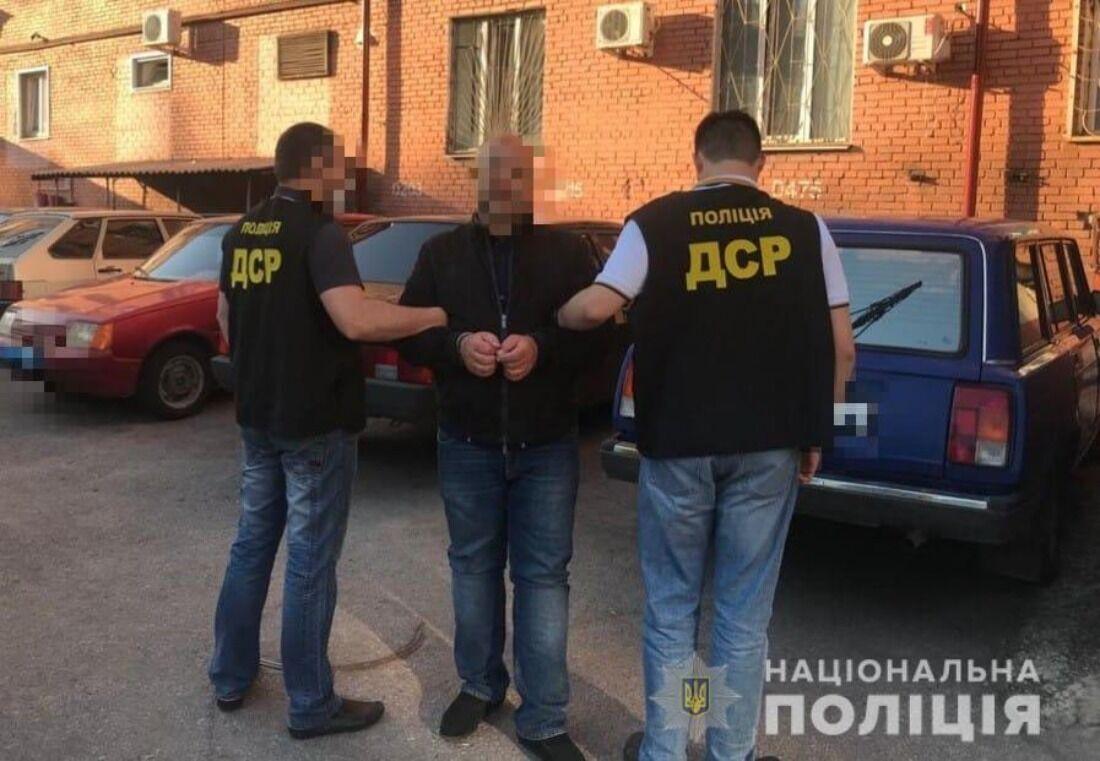 """В Запорожье арестовали """"вора в законе"""" по прозвищу """"Принц"""". Фото"""