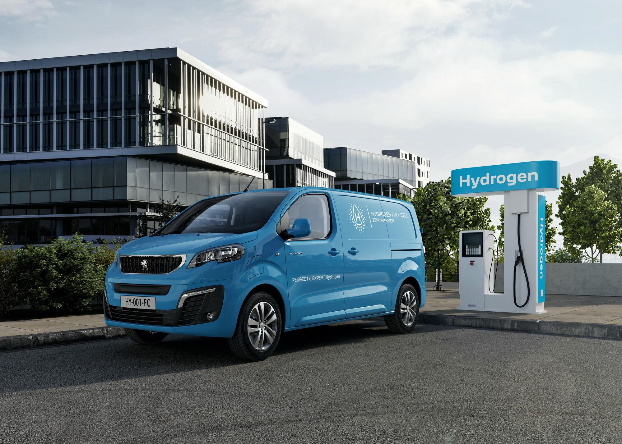 Peugeot e-Expert Hydrogen поповнить гамму електромобілів марки