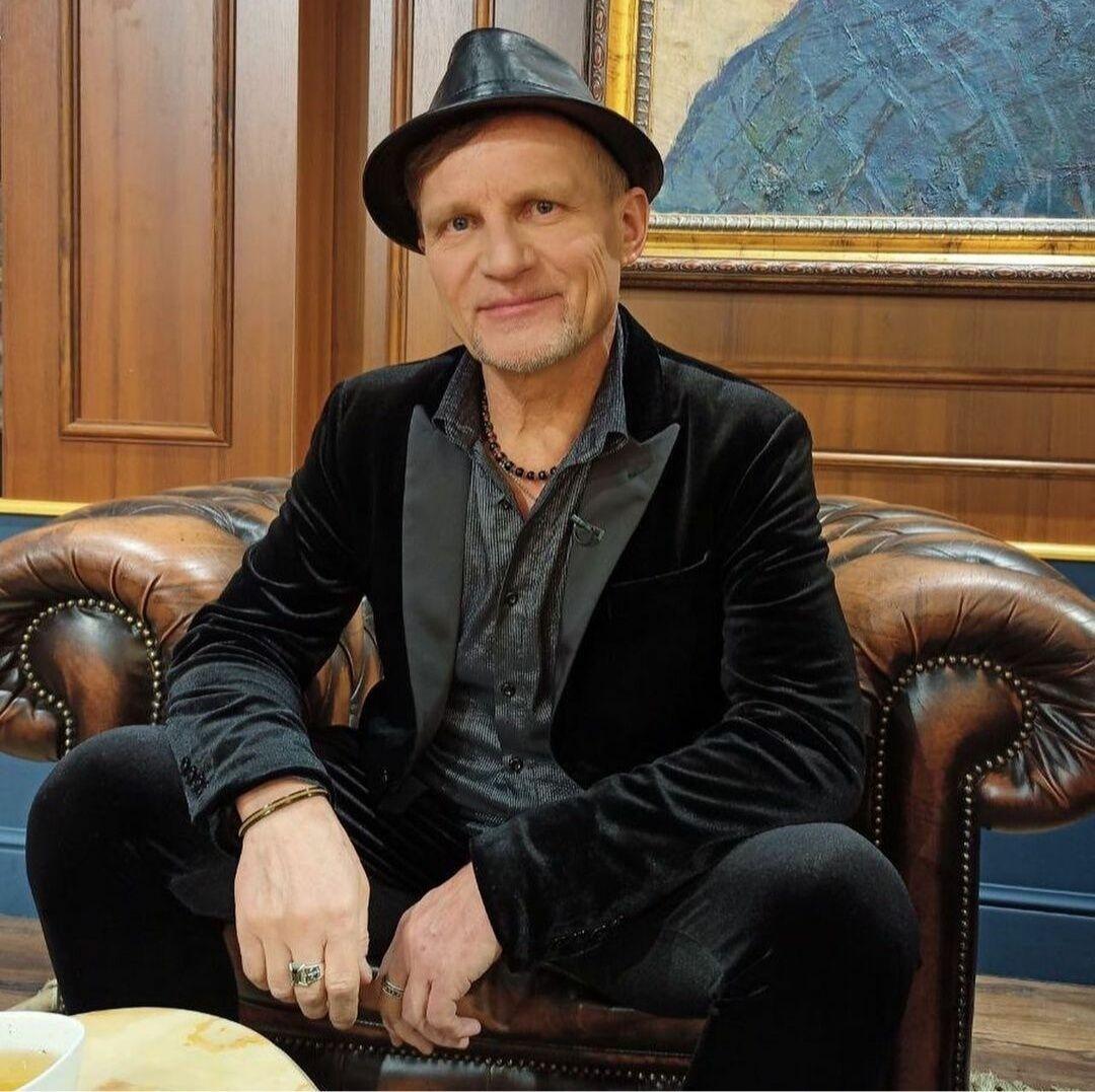 Український співак Олег Скрипка