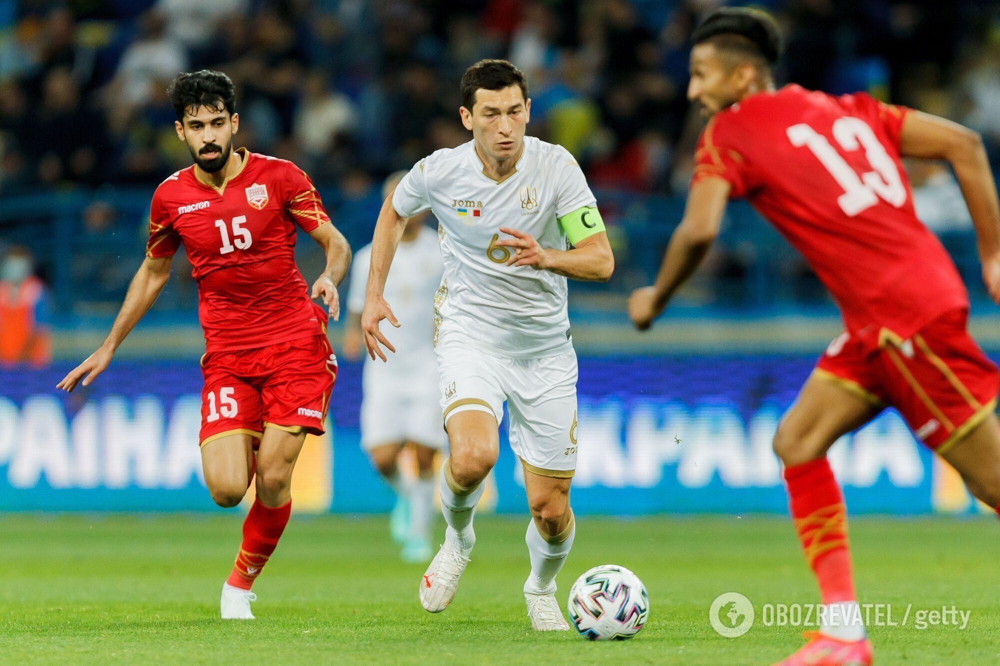 Тарас Степаненко в матчі проти Бахрейну
