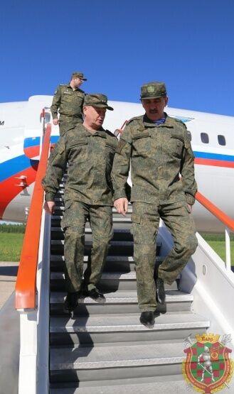 В Беларусь прибыл заместитель министра обороны РФ