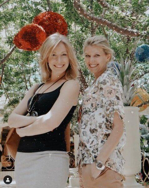 Олена Кравець та Олена Зеленська в молодості