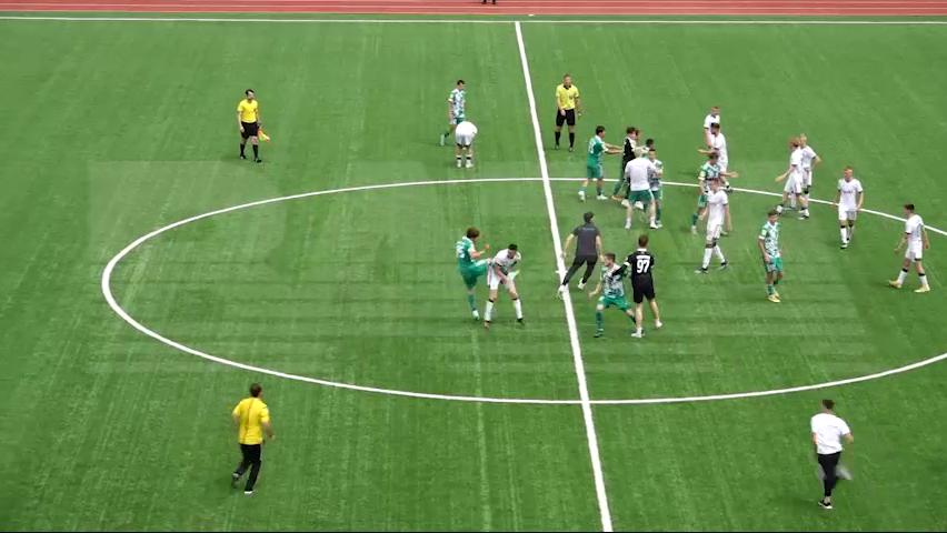 Футболисты Ахмата устроили драку