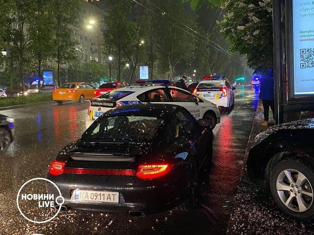 Авто Вячеслава Шевчука.