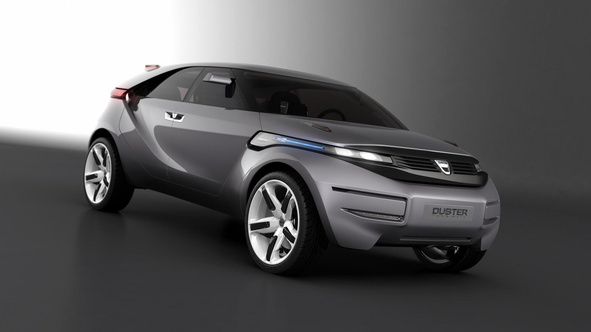 С концептом Duster компания Dacia продемонстрировала потенциал