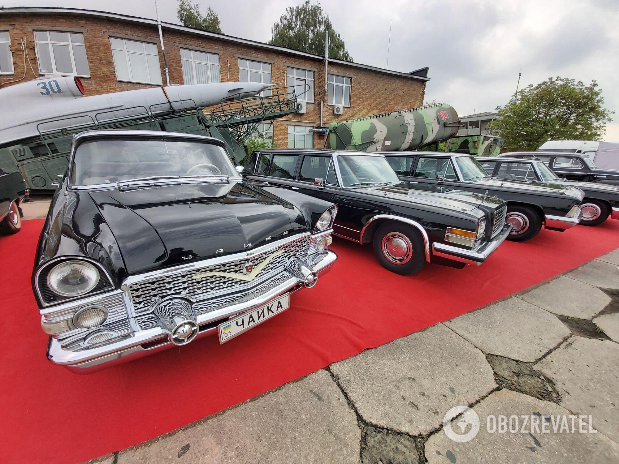 Автомобили советской партийной элиты.