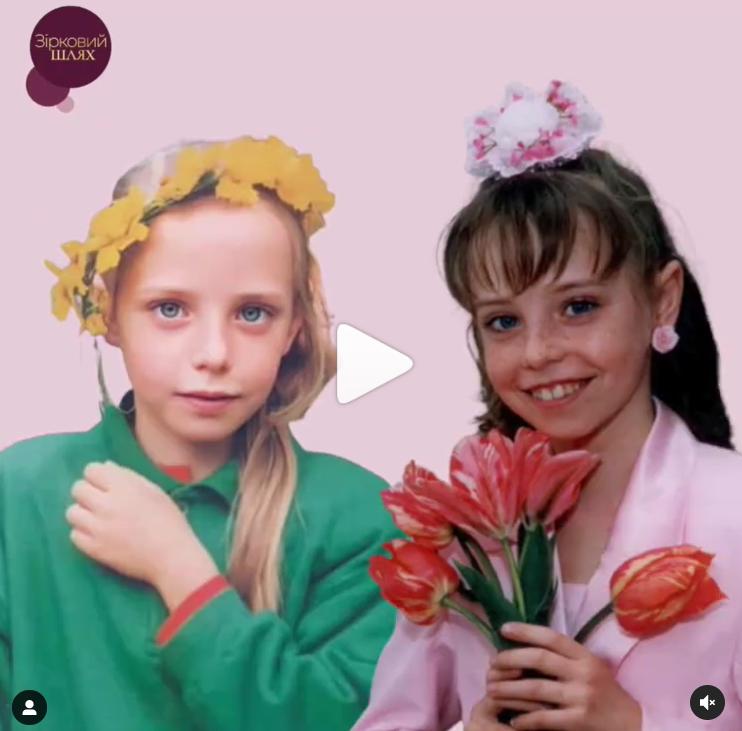 Надя Дорофеева в школьном возрасте