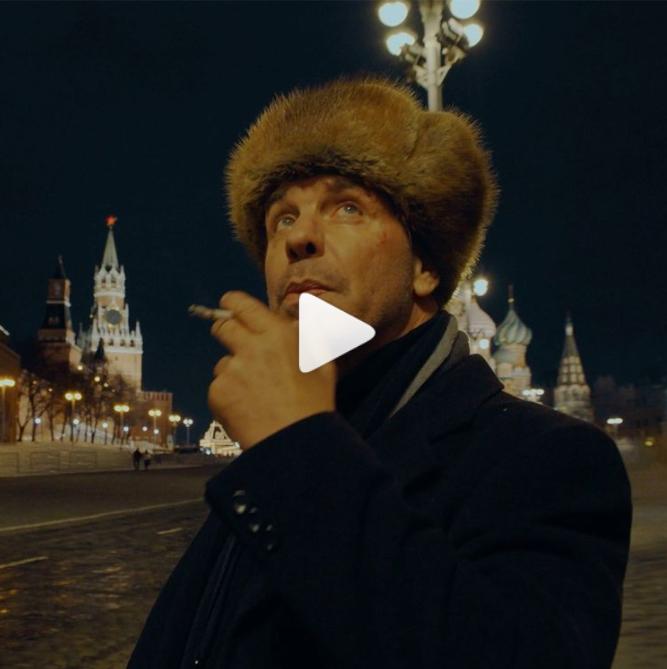 Солист Rammstein в России на Красной площади