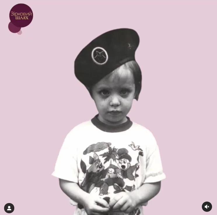 Надя Дорофеева в детстве