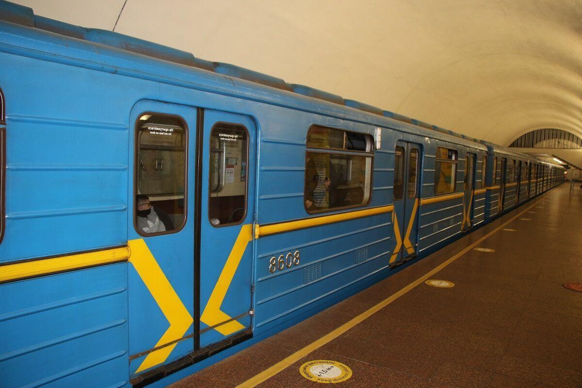 "Вагон метро с ""заложниками"" и ""террористами""."