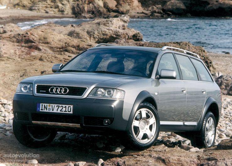 Audi 6 очень хорошо чувствовал себя на бездорожье