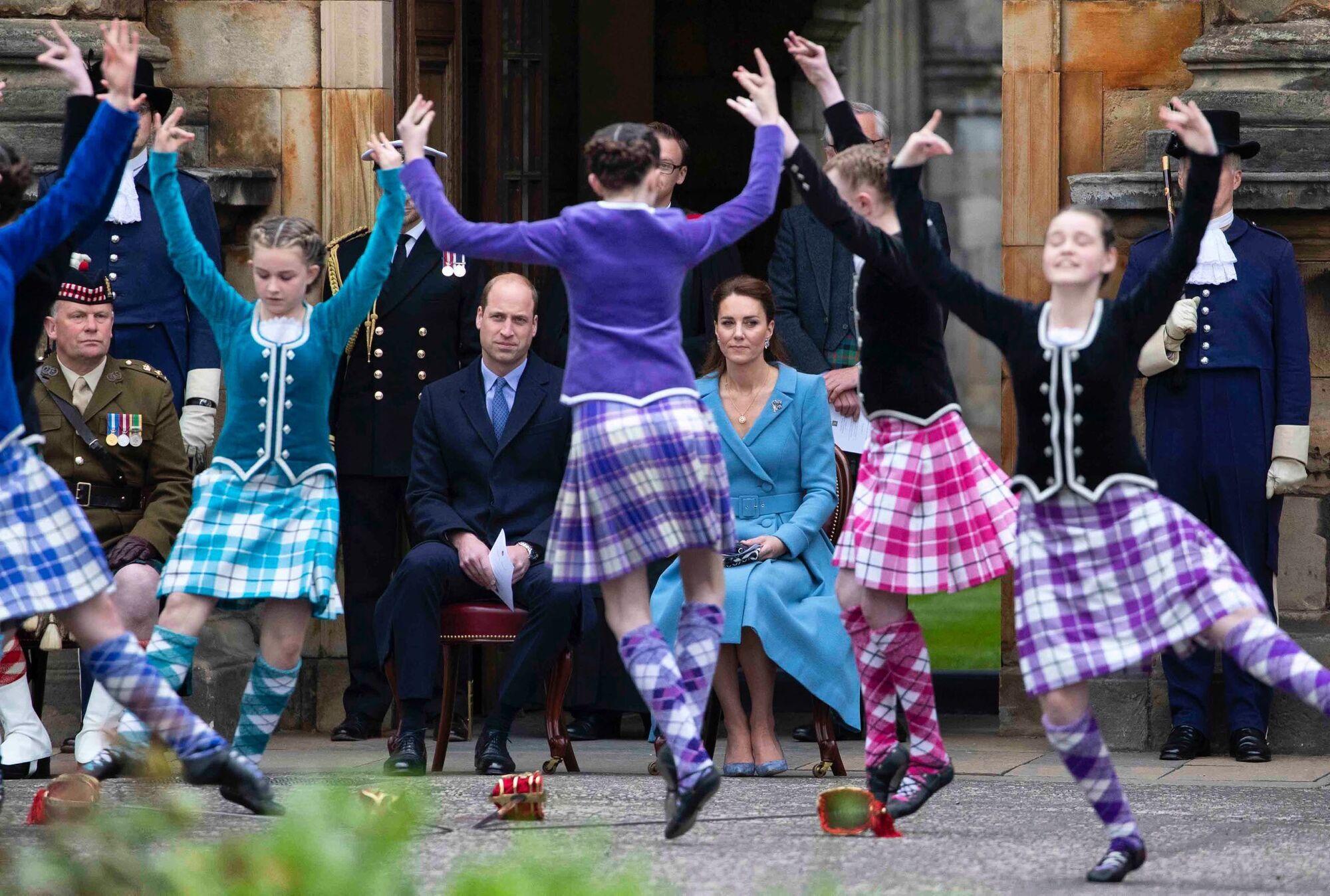 Кадр с мероприятия в Шотландии.