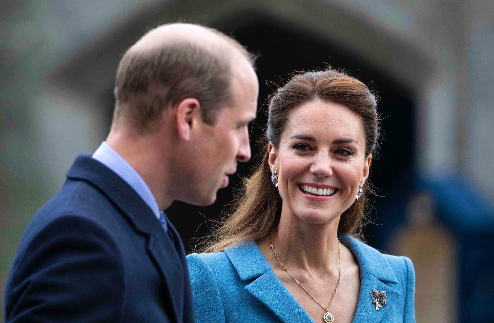 Кейт Миддлтон и принц Уильям на мероприятии.