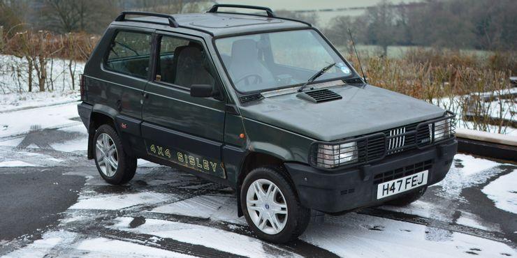 Fiat Panda Mk1 был идеальным для любой местности