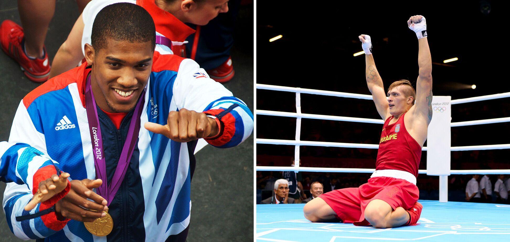 Джошуа и Усик выиграли Олимпиаду в 2012 году