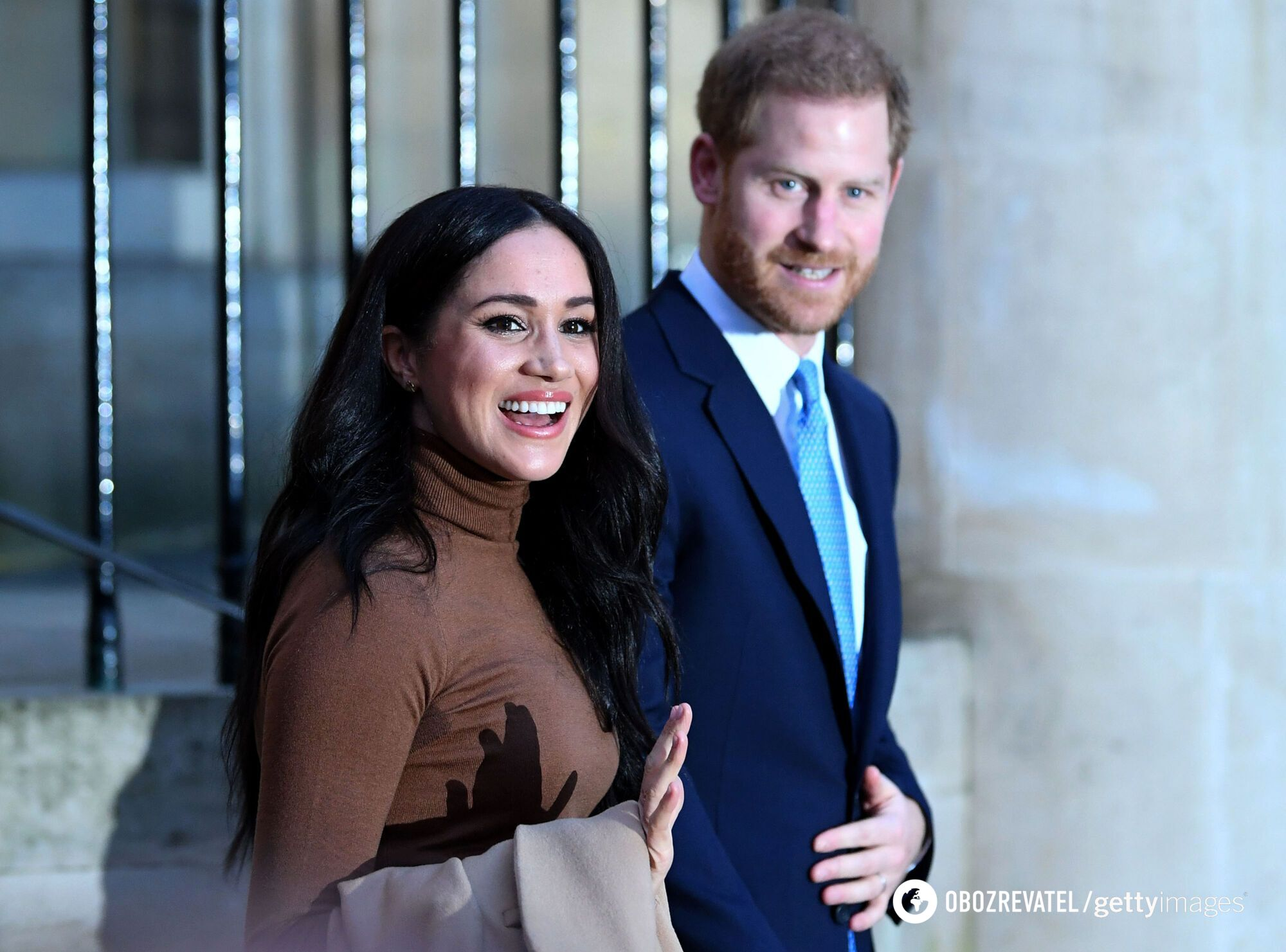 Подружжя принц Гаррі і Меган Маркл