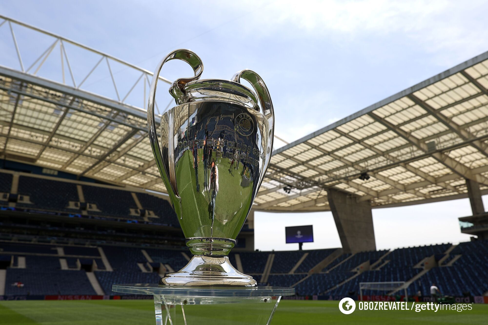 Трофей Лиги чемпионов.