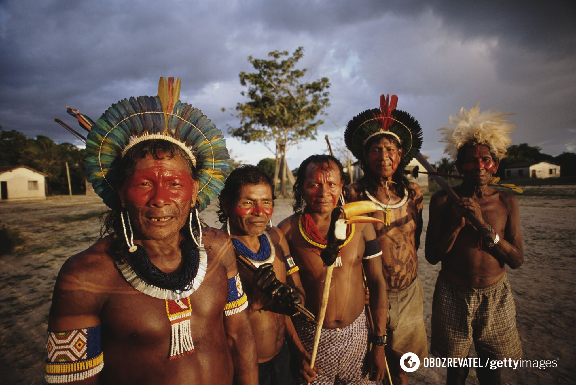 Племена, живущие на Амазонке