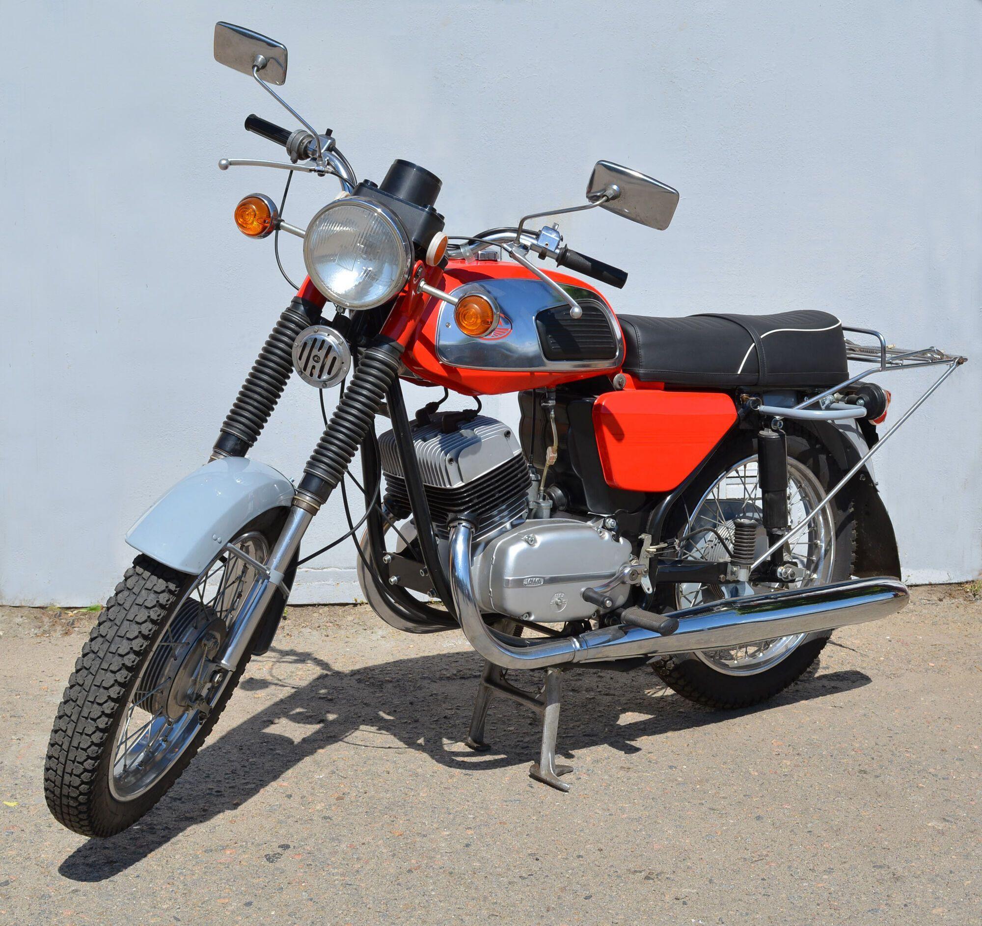 Jawa 350-634 был самым популярным мотоциклом в 80-х