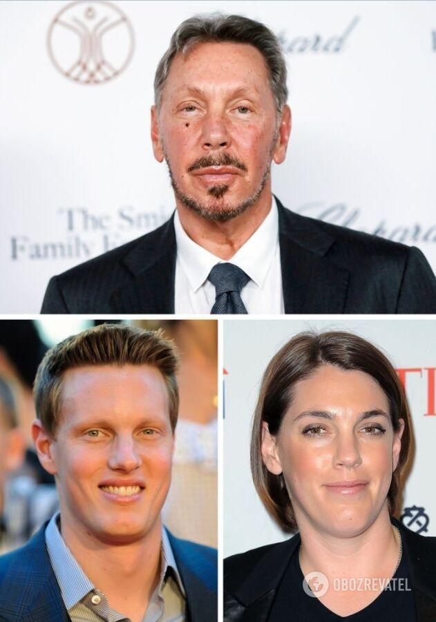 У сооснователя Oracle двое детей: Дэвид и Меган