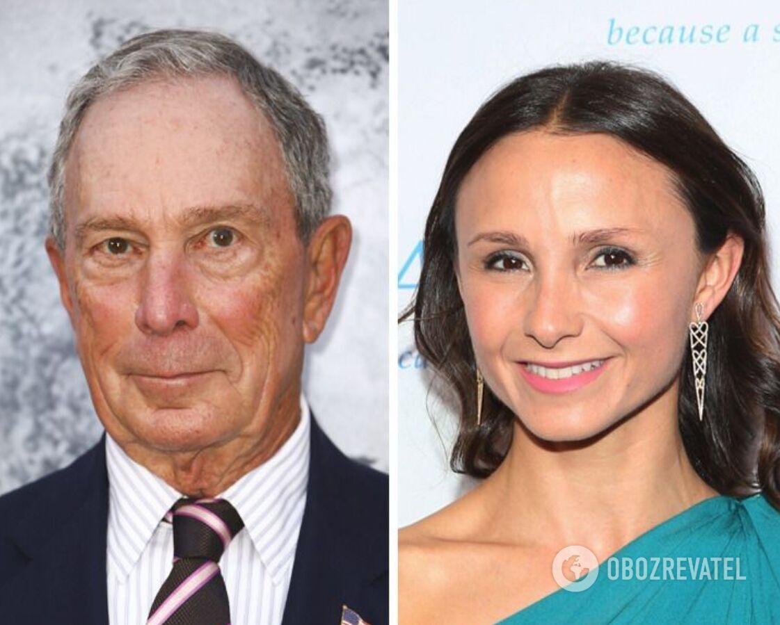 Джорджина – дочь сооснователя Bloomberg Майкла Блумберга