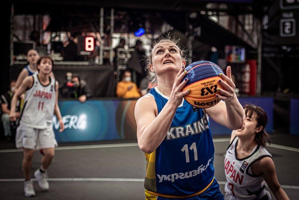 Анна Рульова з м'ячем