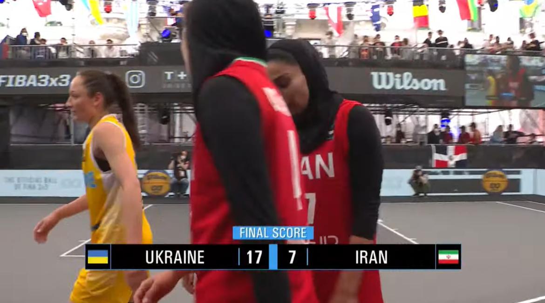 Результат матчу Україна - Іран