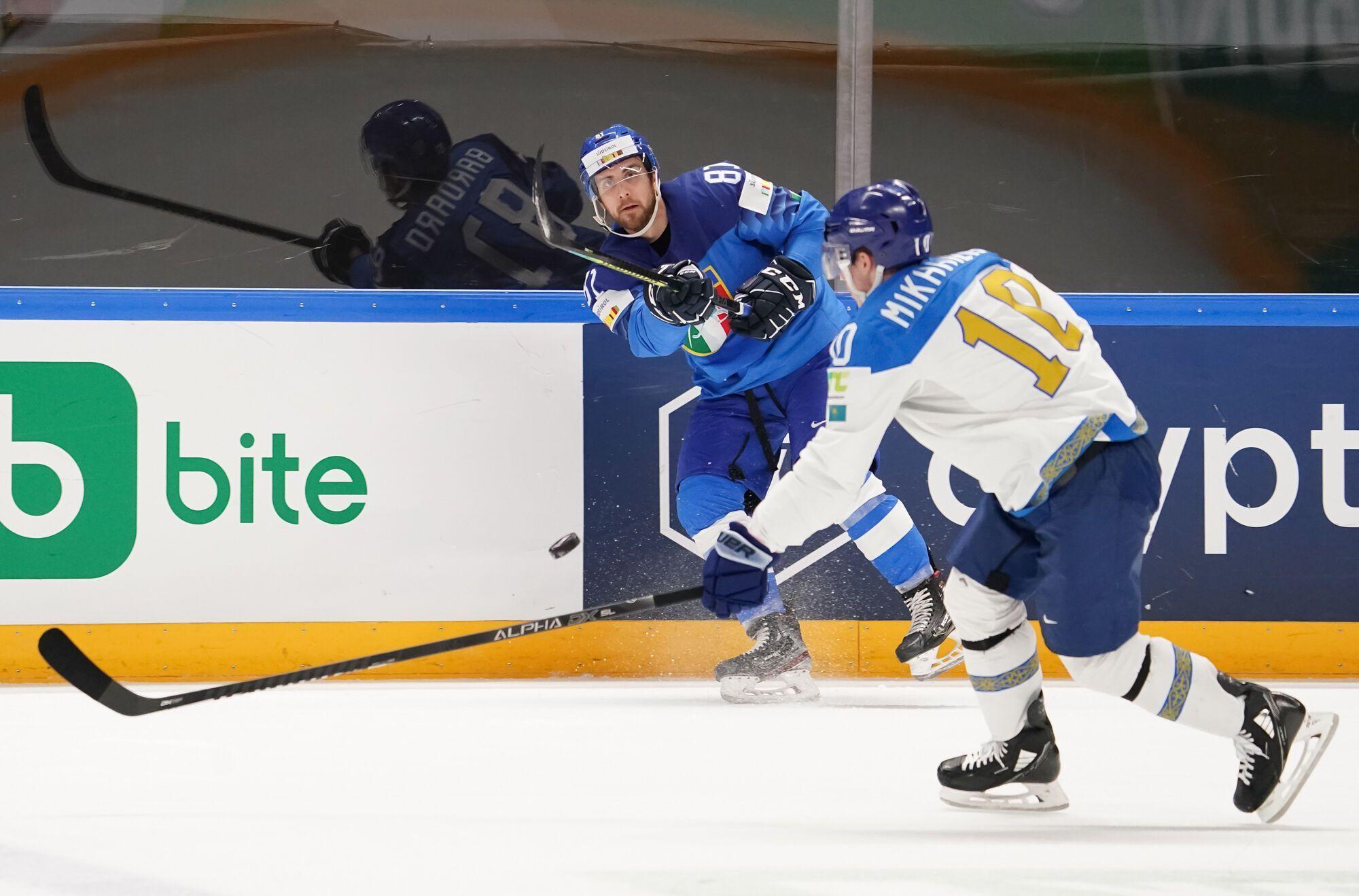 Италия и Казахстан выдали самый результативный матч турнира.
