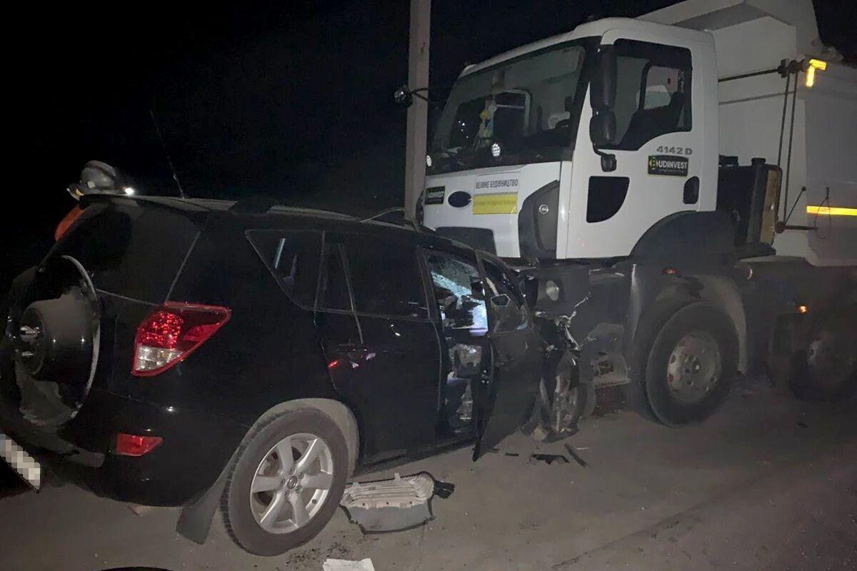 В аварії загинули чотири людини.