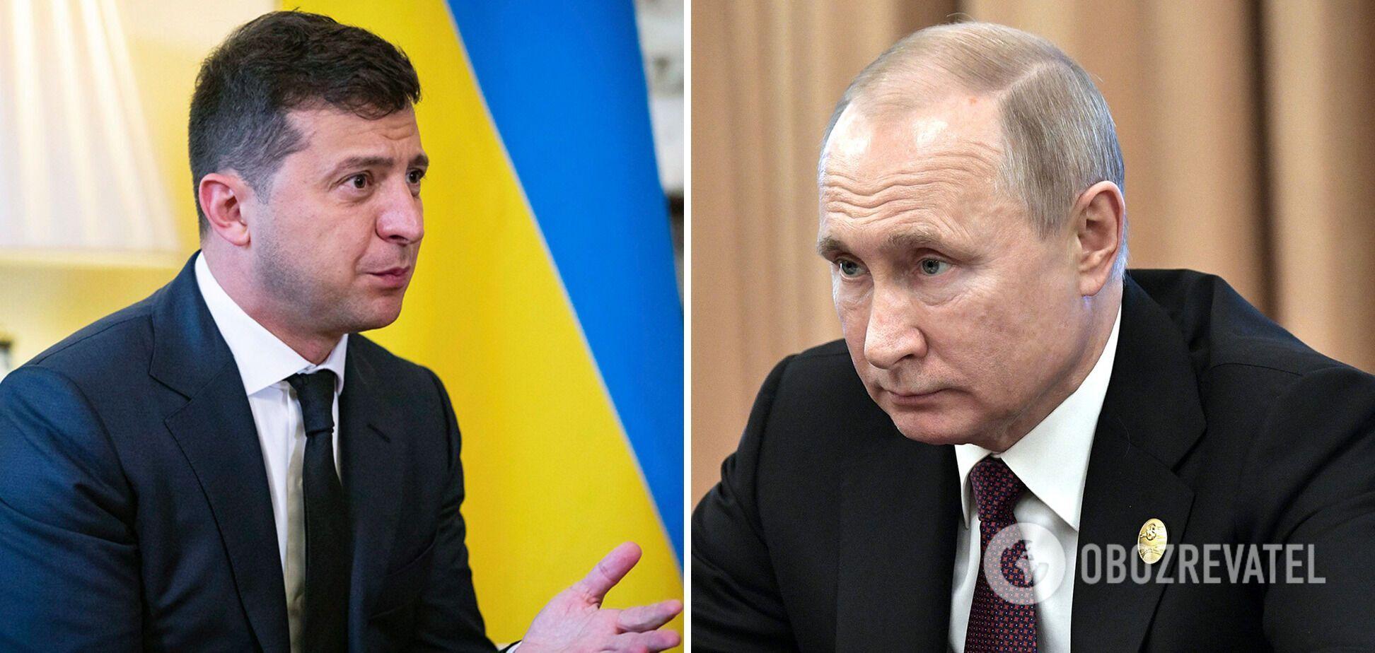 Між Україною і Росією немає домовленості про зустріч президентів Володимира Зеленського та Володимира Путіна
