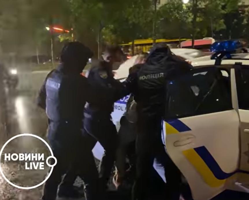 Поліція затримала В'ячеслава Шевчука.