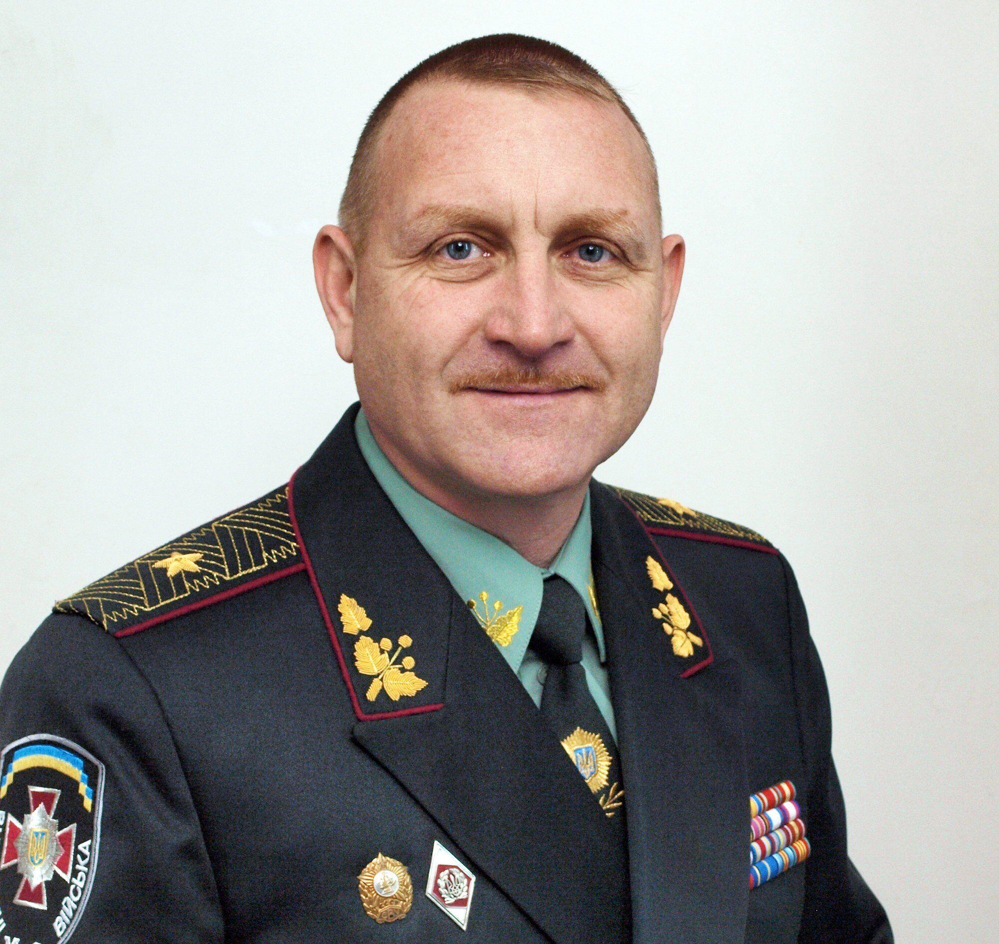Генерал-майор Національної гвардії України Сергій Кульчицький