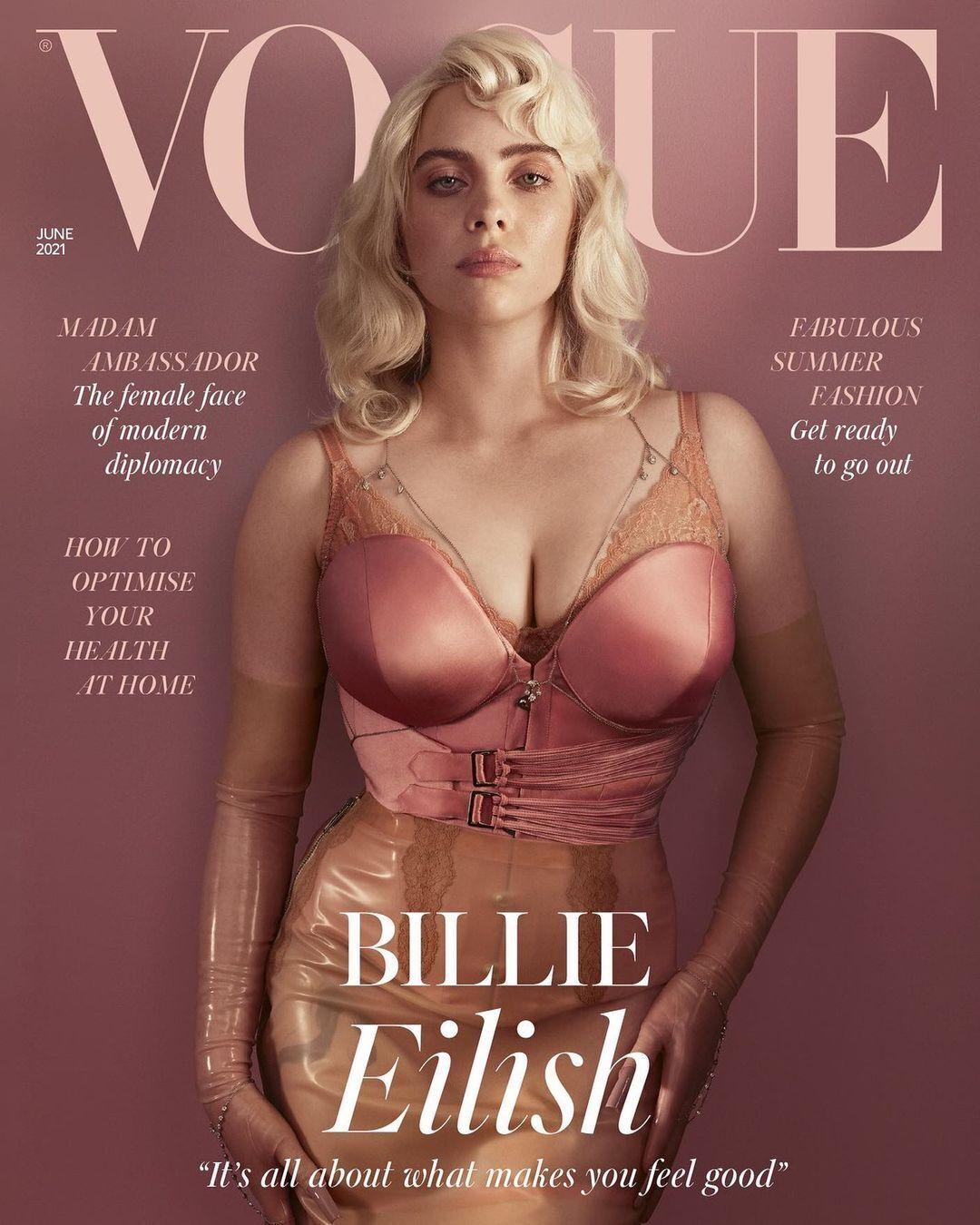 Біллі Айліш прикрасила обкладинку Vogue