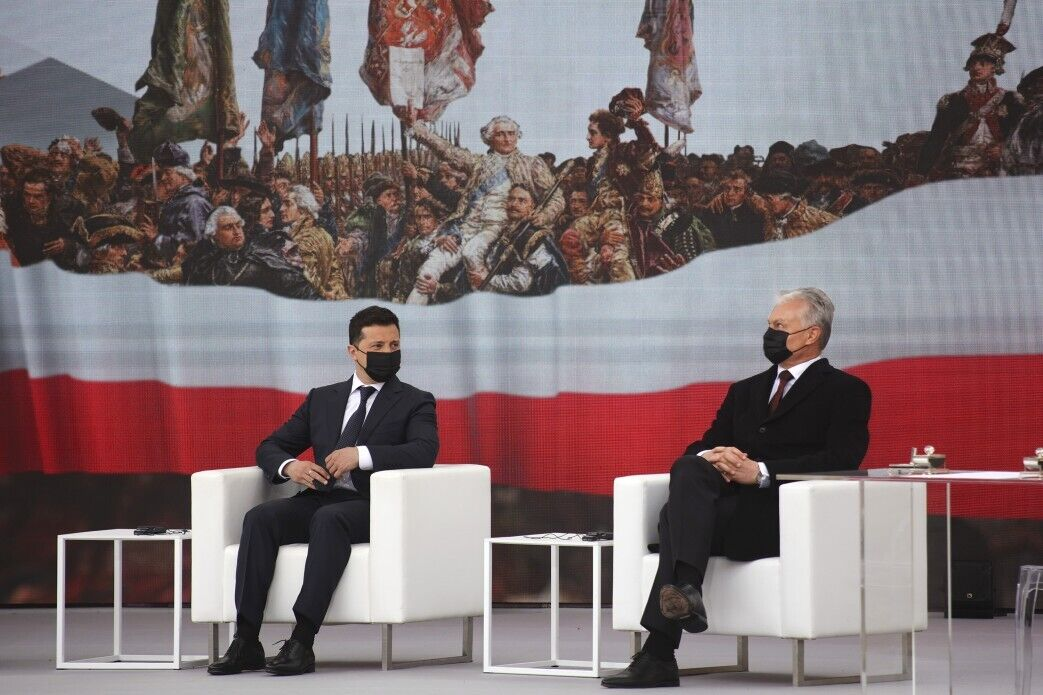 Зеленський і президент Литви